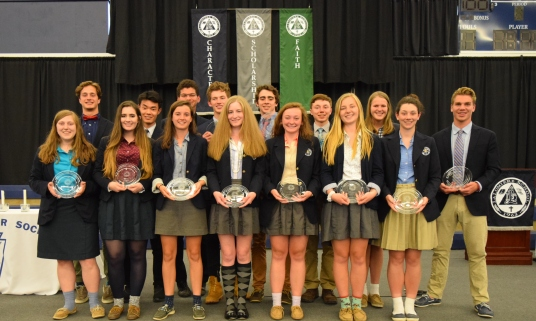 Fall Award Winners